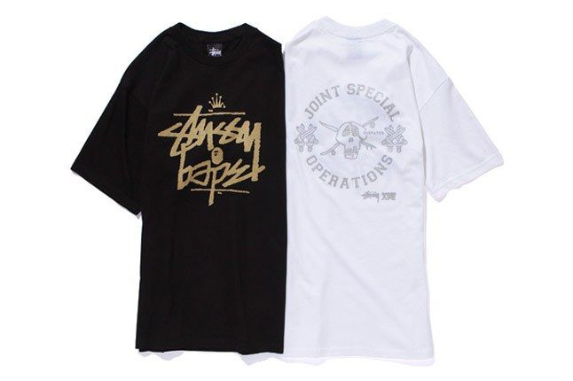 A Bathing Ape X Stussy 2010 Holiday Collection 8A 1