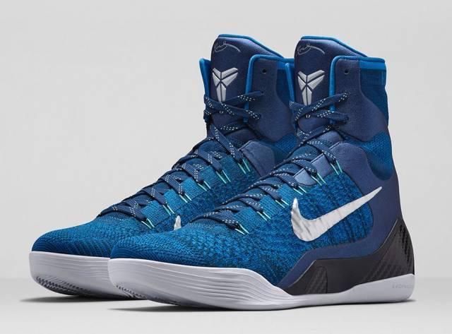 Nike Kobe 9 Bravo Blue 1