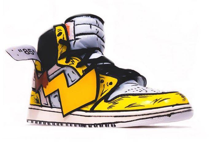 Detective Pikachu Off White Air Jordan 1 Right