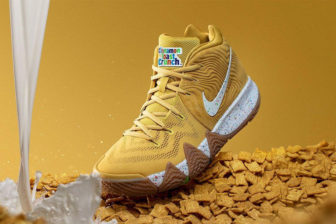 Nike Kyrie 4 Cinnammon Toast Crunch