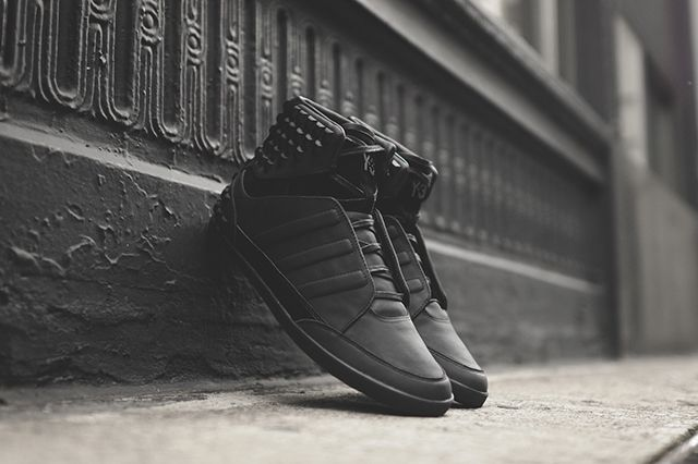 Adidas Y 3 Honja Triple Black Stud Pack 2
