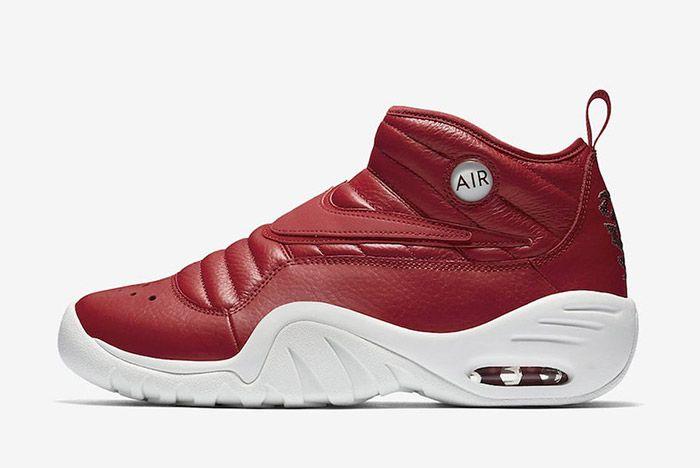 Nike Air Shake Ndestrukt Dark Red 5