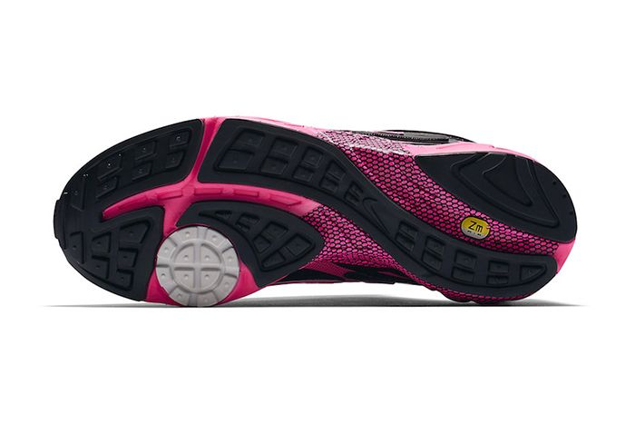 Nike Air Ghost Racer Black Pink Blast Cu1927 066 Release Date Outsole