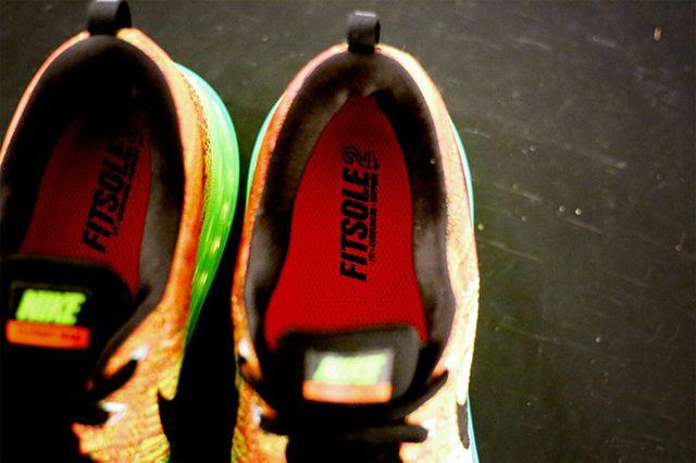 Nike Flyknit Max Muticolour 4