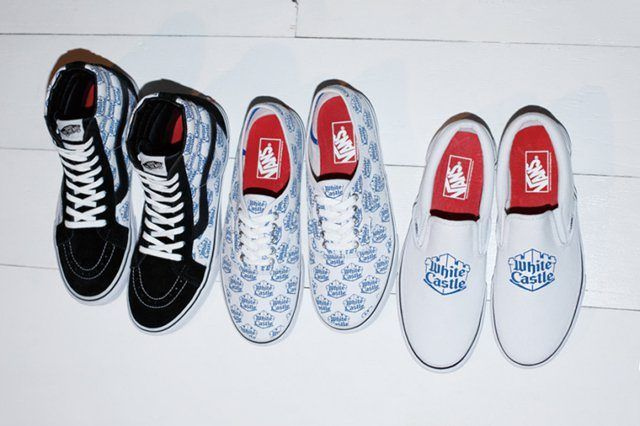 White Castle X Supreme X Vans 2015 Spring Summer Collection 1