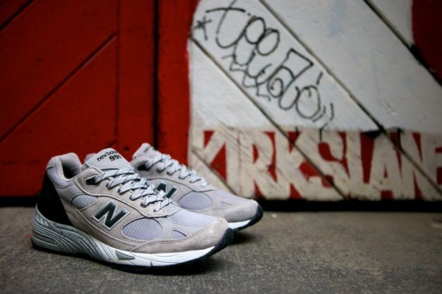 New Balance 991 Made In Usa Grey Black 4