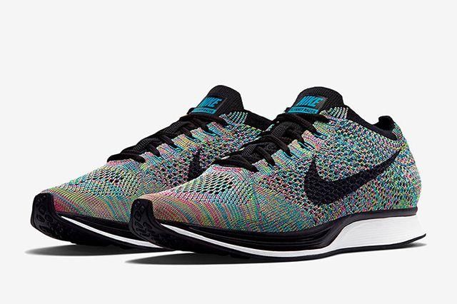 Nike Flyknit Racer Multi Colour2