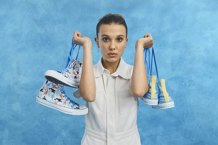 Millie Bobby Brown Converse Chuck Taylor All Star By You Collaboration Release Date Hero