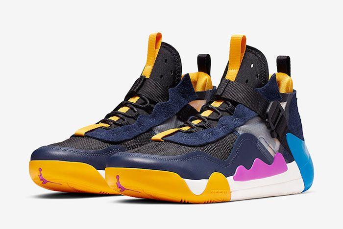 Jordan Defy Sp Black Hyper Violet Cj7698 004 Front Angle