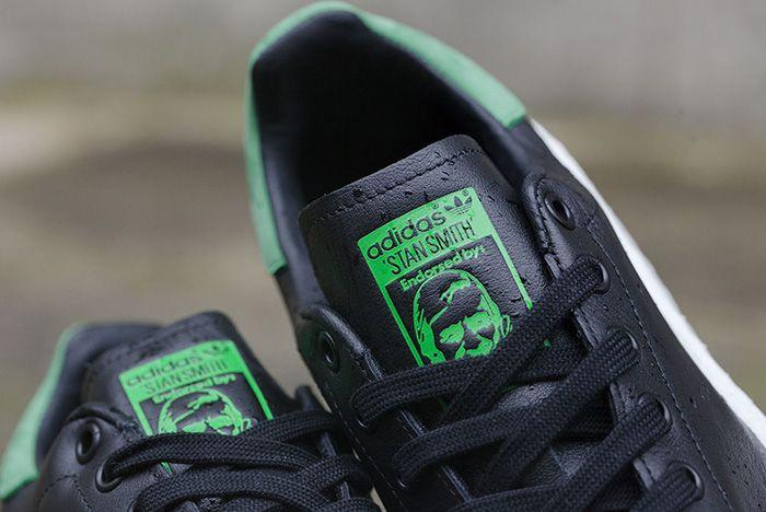 Adidas Originals Stan Smith Boost Black 4