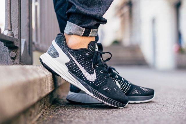 Nike Lunarglide 7 Black Summit White 1