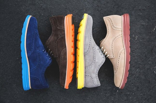 Cole Haan Lunargrand Wingtip Ss13 Aerial Profile