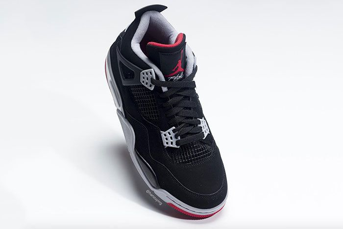 Air Jordan 4 Bred Black Red 2019 308497 060 9