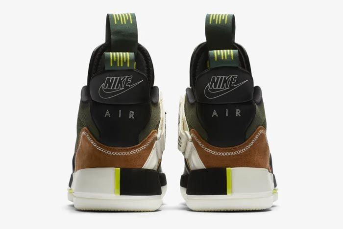 Air Jordan 33 Travis Scott Heels