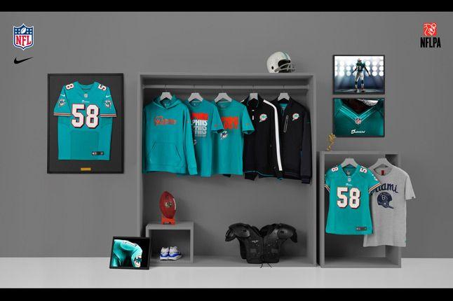 Nike Nfl Fanwear Mia Dolphins 2012 1