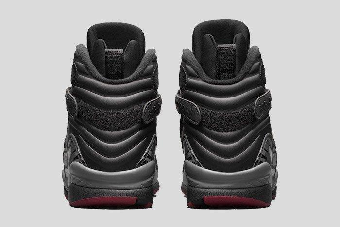 Air Jordan 8 Black Cement 4