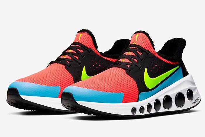 Nike Cruzr One Bright Crimson Cd7307 600 Front Angle