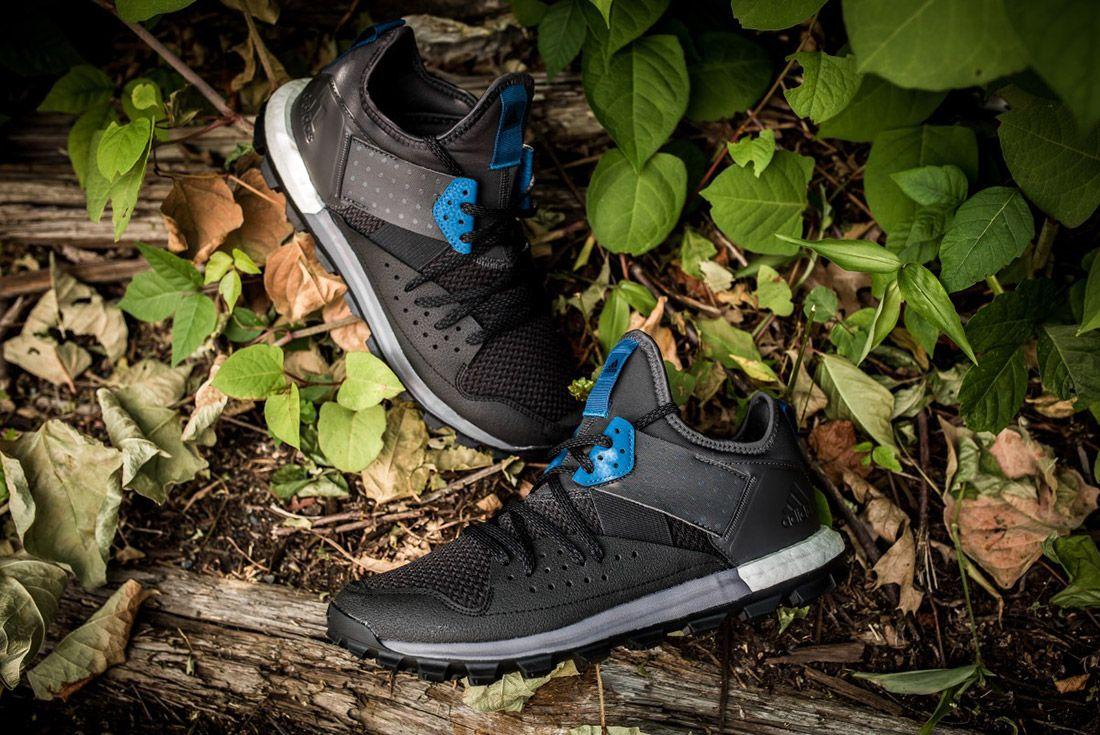 Adidas Response Trail Boost Black Navy 1