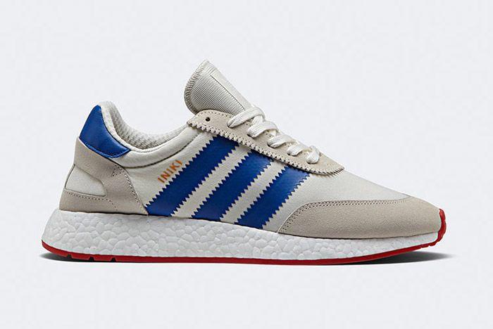 Adidas Iniki Runner Boost White Red Blue 1