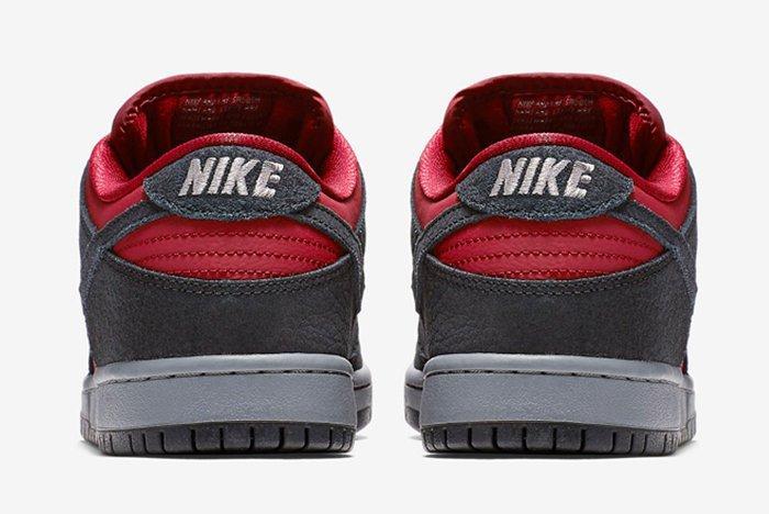Nike Sb Dunk Low Wine Red2