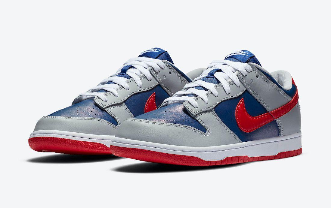 Nike Dunk Low Samba Angled