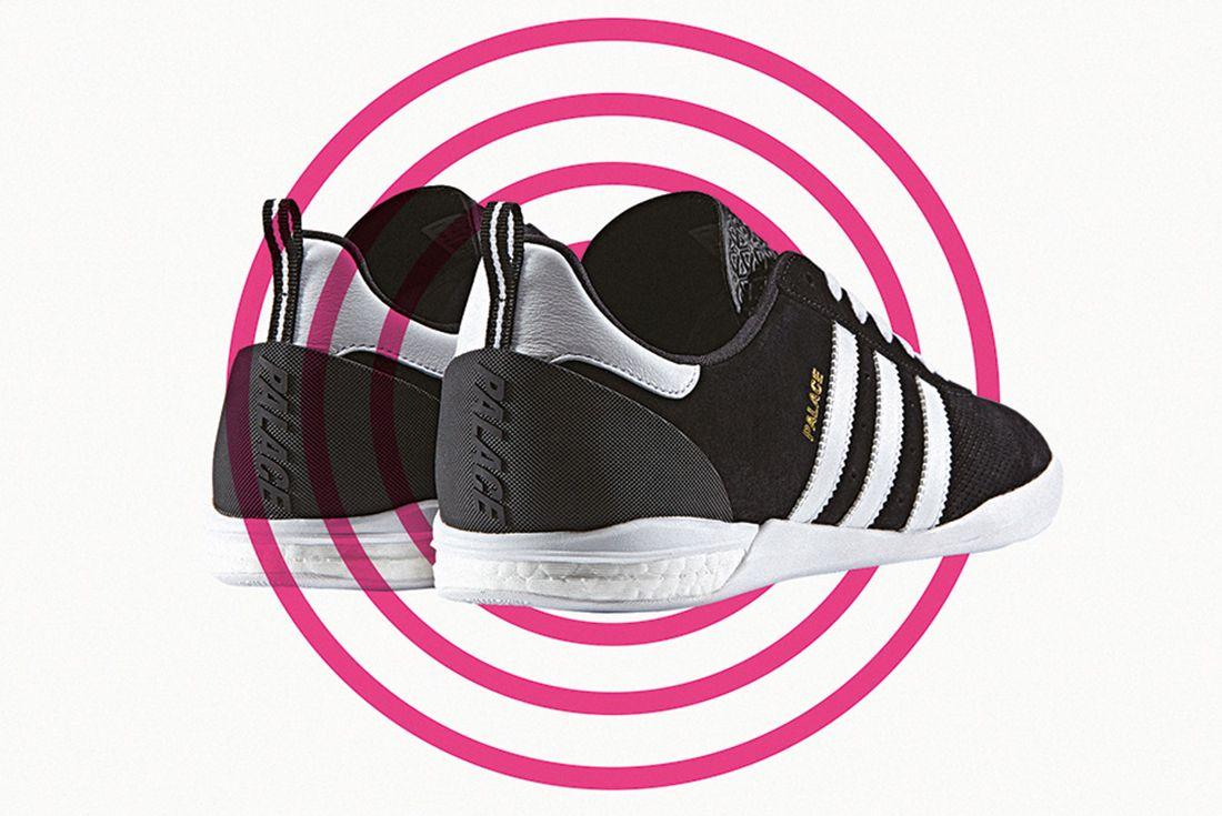 Palace X Adidas Indoor Boost 1