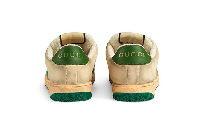 Gucci Distressed Sneakers Gg Canvas Release 7