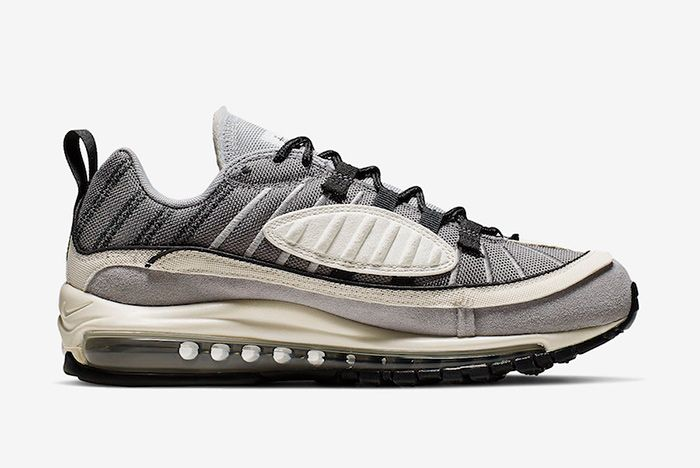 Nike Air Max 98 Inside Out Grey Right