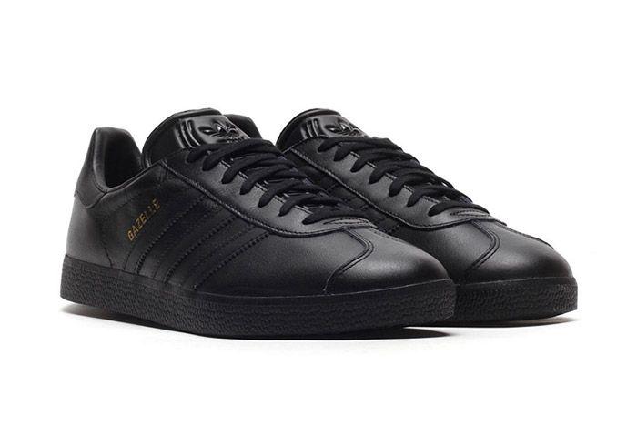 Adidas Gazelle Black Leather 2