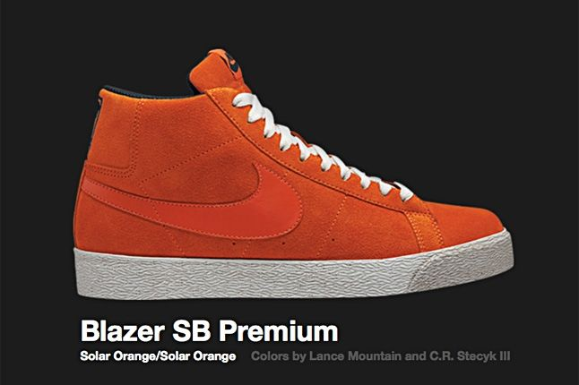 Nike Blazer Sb Premium Solar Orange 2008 1
