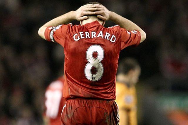Steven Gerrard Worst Sports Falls