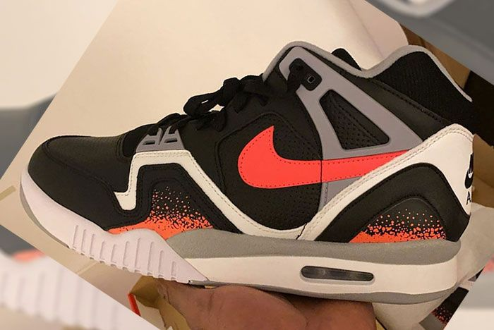 Nike Air Tech Challenge 2 Black Lava
