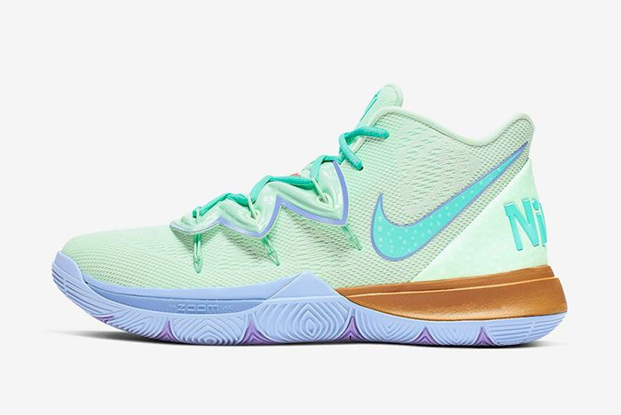 Nike Kyrie 5 Squidward Tenticles Left