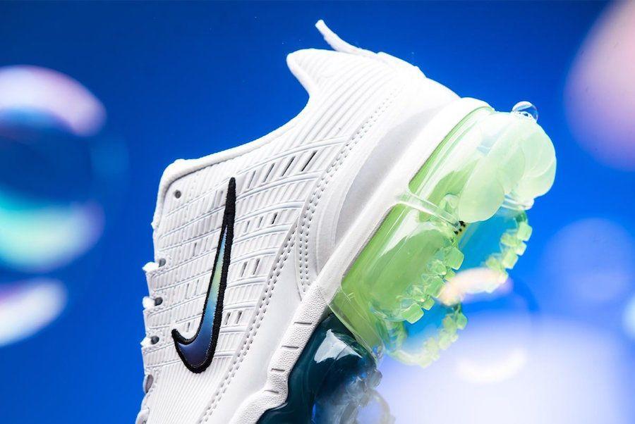 Nike Air Vapormax 360 Summit White Heel Closeup