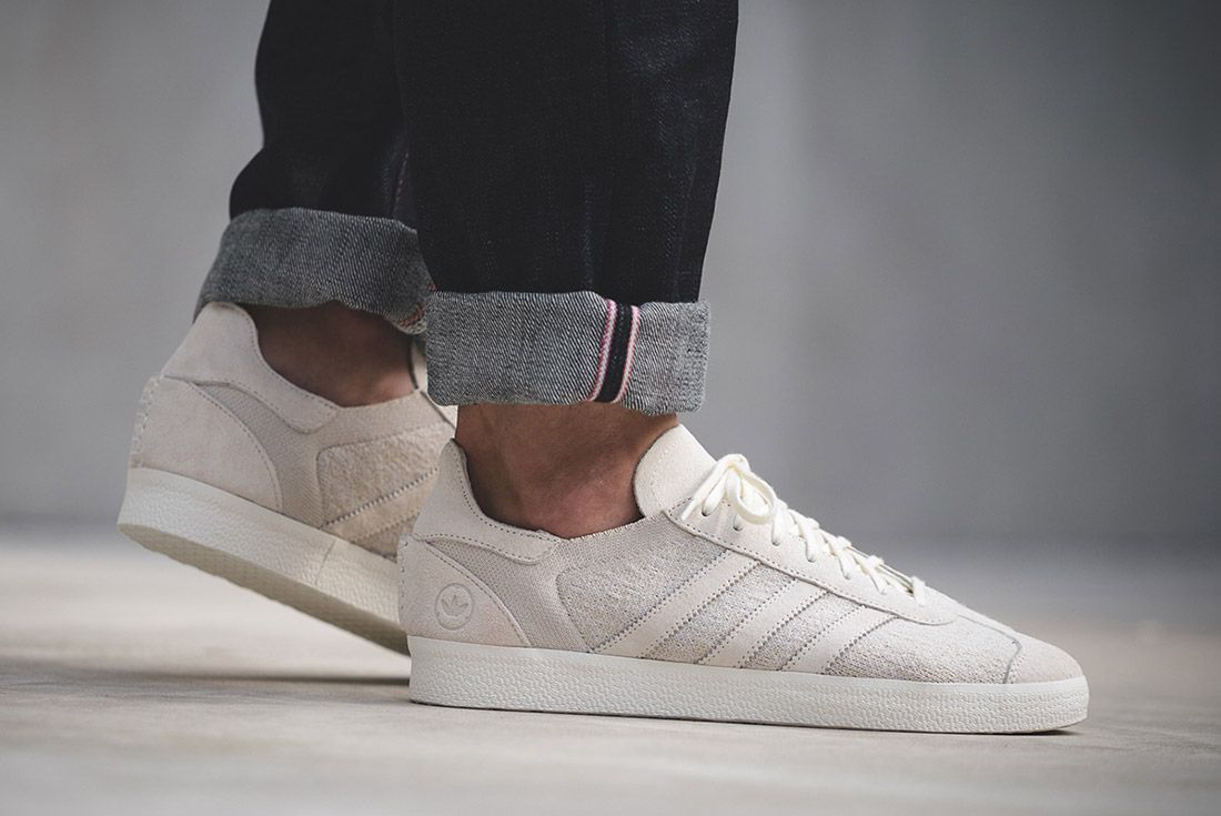 Wings And Horns Adidas Gazelle Off White 3