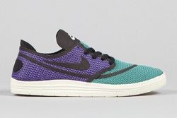 Nike Sb Lunar One Shot Woven Mint Hyper Purple Thumb