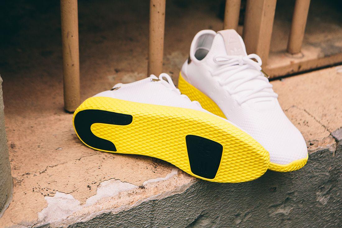 Pharrell Williams X Adidas Tennis Hu Gold13