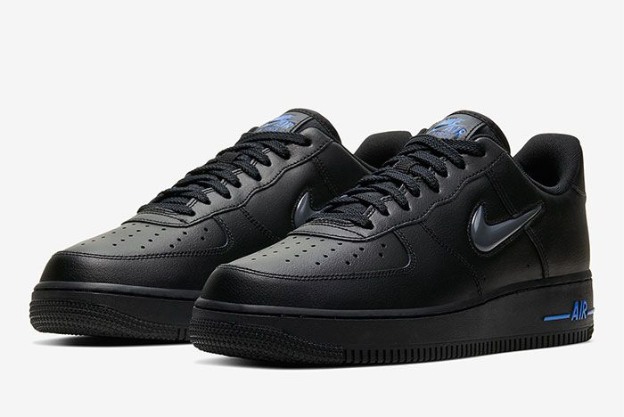 Nike Air Force 1 Low Jewel Black Toe