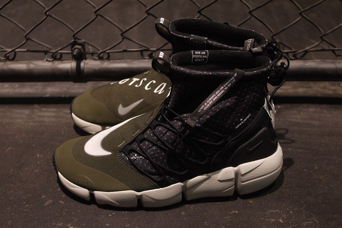 Nike Air Footscape Mid Utility Tokyo Limited Edition For Nonfuture Mita Sneakers 7