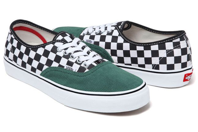 Supreme Vans Authentic Corduroy Checker 03 1