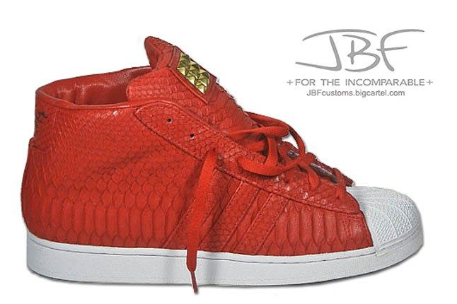 Jbf Customs Red Python Adidas Promodel 2 1