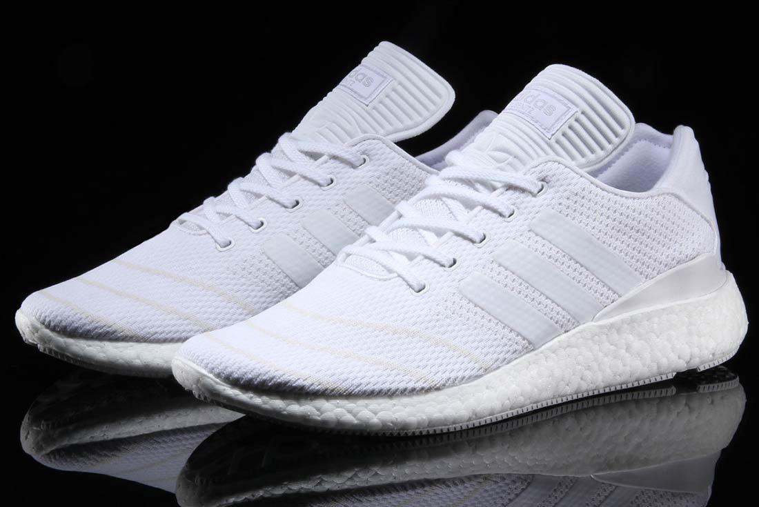 Adidas Busenitz Pure Boost Triple White 7