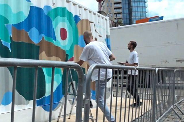 Boxpark Live Graffiti– Sobek Sicks Ha 11