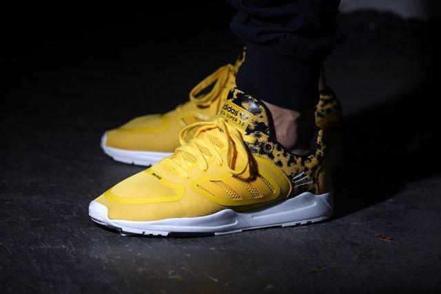 Adidas Tech Super 3 0 Tribe Yellow 1