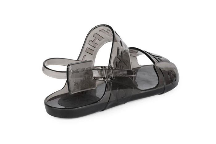 Offwhite Jelly Sandal 3