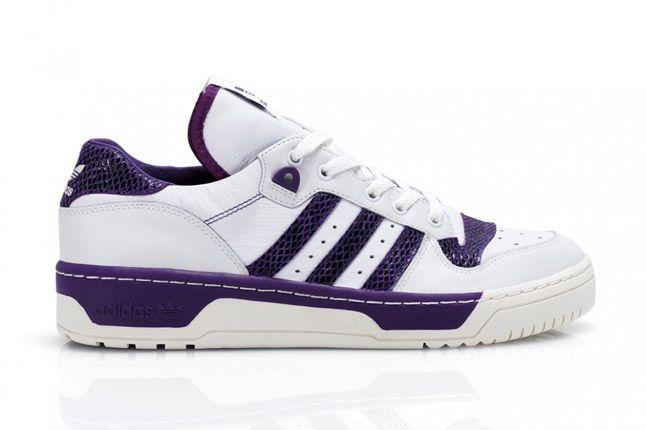 Purple Adidas Rivalry Lo Limited Edition Profile 1