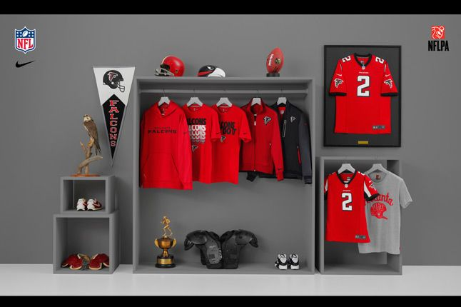 Nike Nfl Fanwear Atl Falcons 2012 1