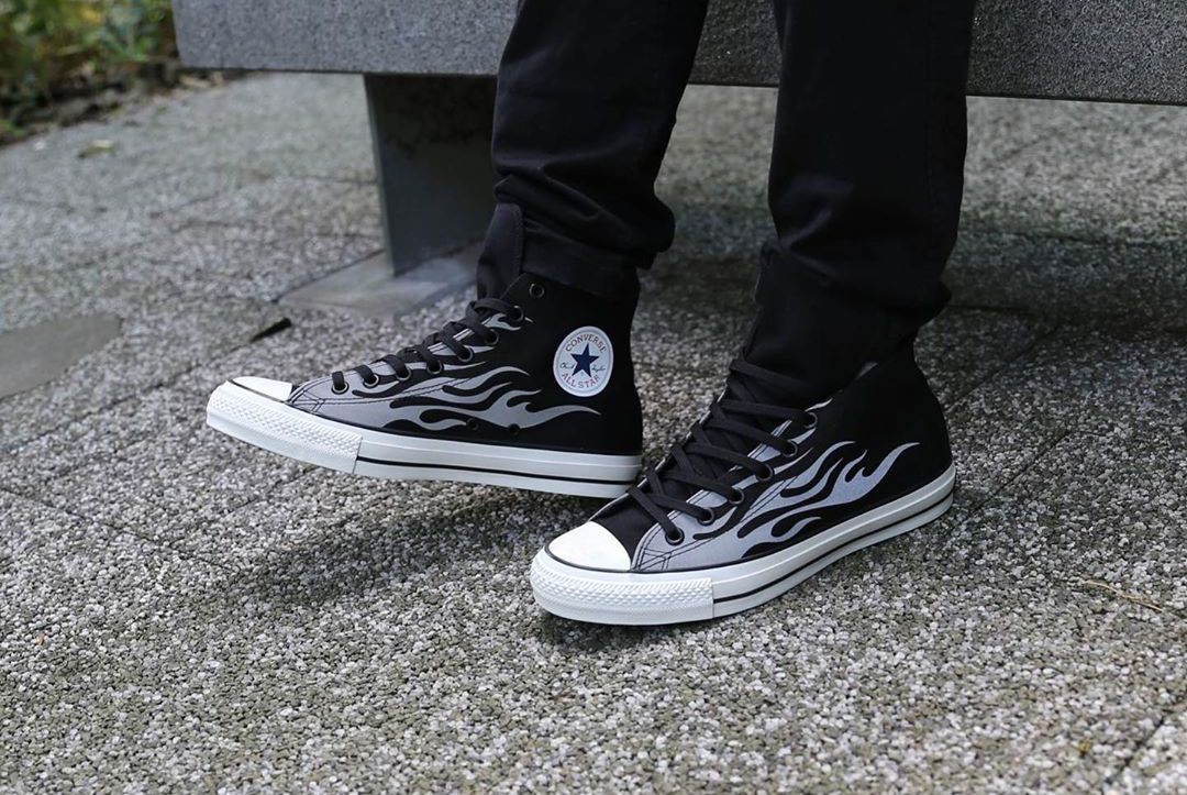 Converse All Star 100 (Reflective Flames)