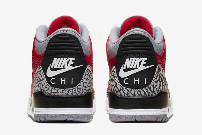 Air Jordan 3 Air Chi Heel
