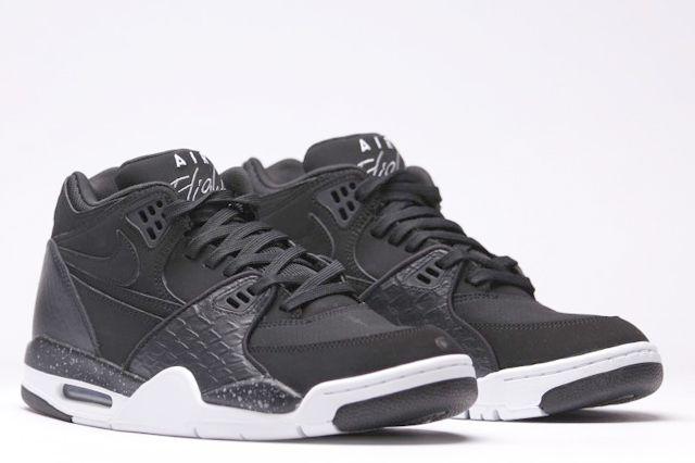 Afew Store Sneaker Nike Air Flight 89 Black White Coolgrey 13